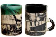 Ceramic mug with printed image by Van Wagoner Studios